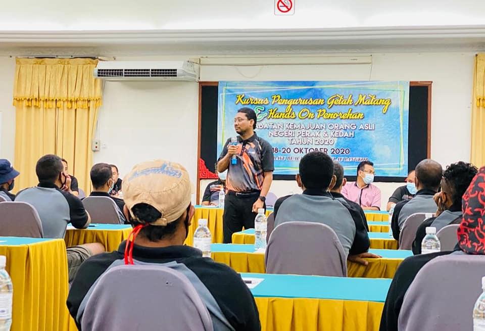 Kursus Pengurusan Getah Matang dan Hands On Penorehan Getah di Puteri Bayu Beach Resort