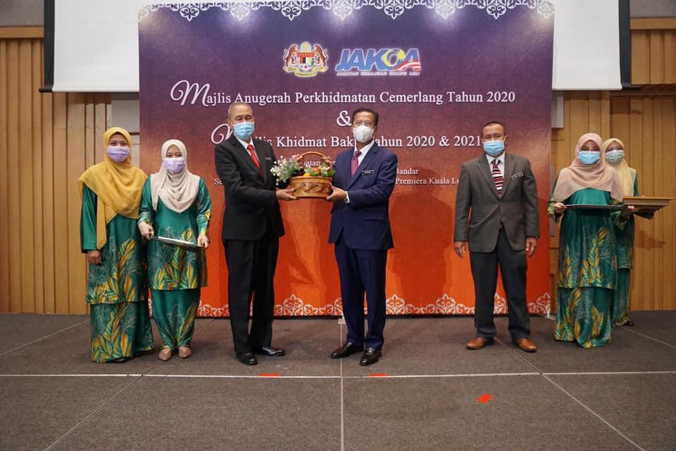 """Majlis Anugerah Perkhidmatan Cemerlang (""""APC"""") JAKOA tahun 2020"""