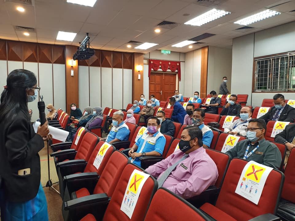 Sesi Perjumpaan Ketua Pengarah JAKOA bersama Pegawai JAKOA Daerah dilaksanakan di Auditorium Muzium Orang Asli Gombak