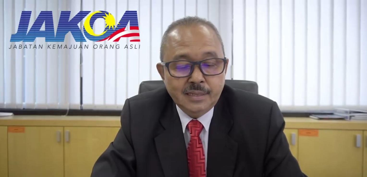 Ketua Pengarah JAKOA menyeru seluruh rakyat Malaysia dan masyarakat Orang Asli untuk tampil ke depan dapatkan suntikan vaksin Covid-19