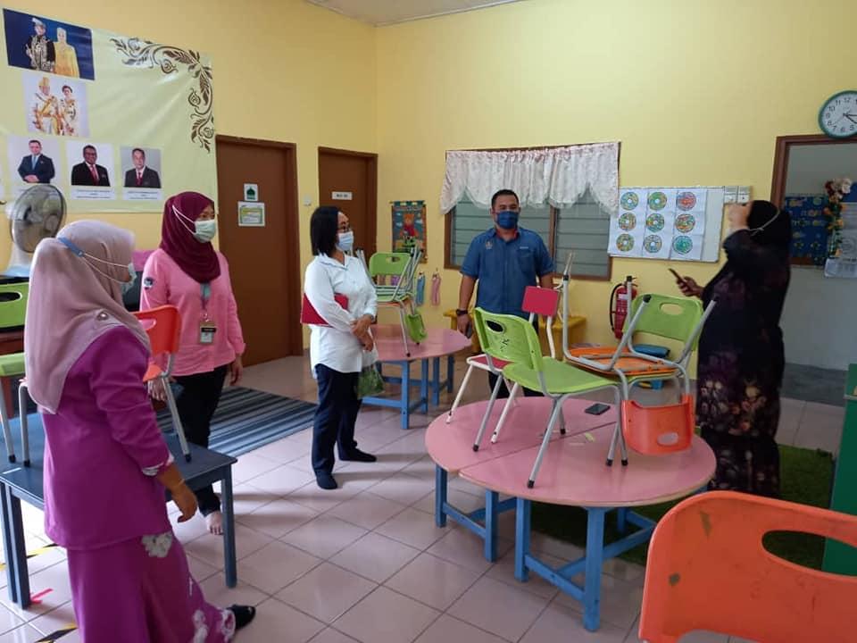 Lawatan kerja Penolong Pengarah JAKOA Negeri Selangor dan Wilayah Persekutuan Pn. Dahlia Permid ke Kampung Orang Asli Hulu Kemensah dan Desa Temuan Bukit Lanjan