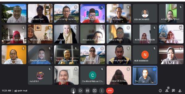 Sesi Libat Urus bersama agensi-agensi berkaitan pengambilan pelajar OA lepasan SPM 2020