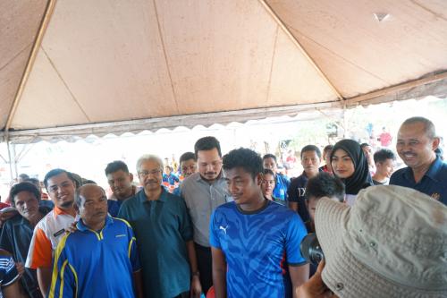 Lawatan YB Menteri ke Muadzam Pahang