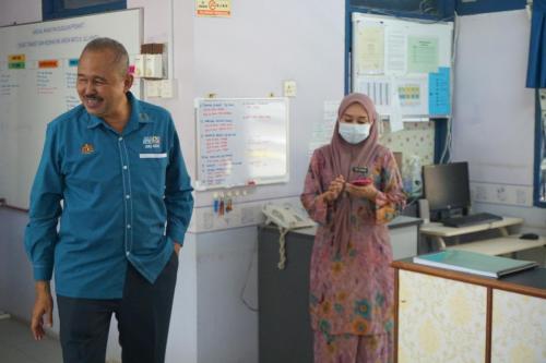 Lawatan KP ke Pusat Transit JAKOA Batu 8 Ulu kinta Perak